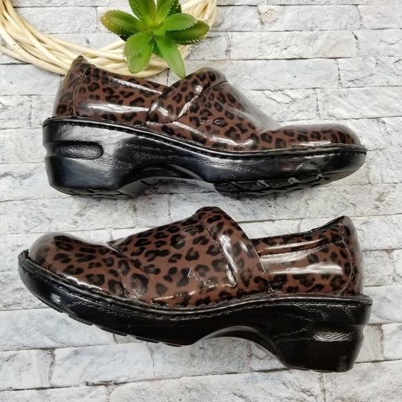 3c040ee64ed7 Born Shoes | Boc Concept Clogs Slip On Animal Print | Poshmark